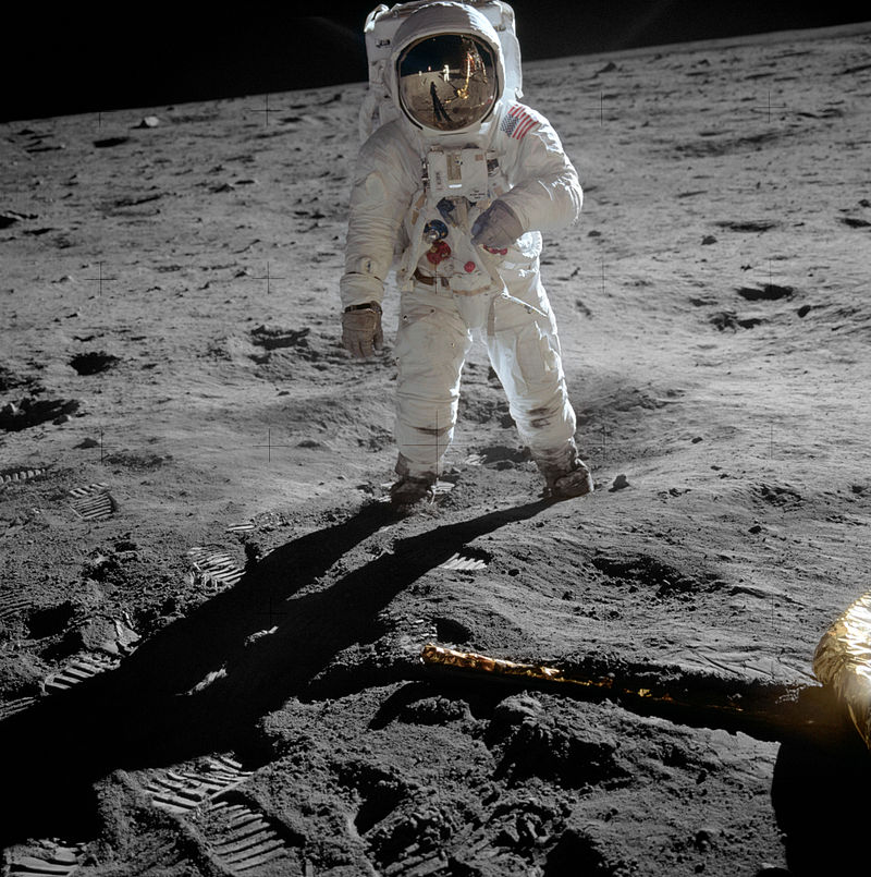 Astronaut Buzz Aldrin, had a personal Communion service when he first arrived on the surface of the Moon.