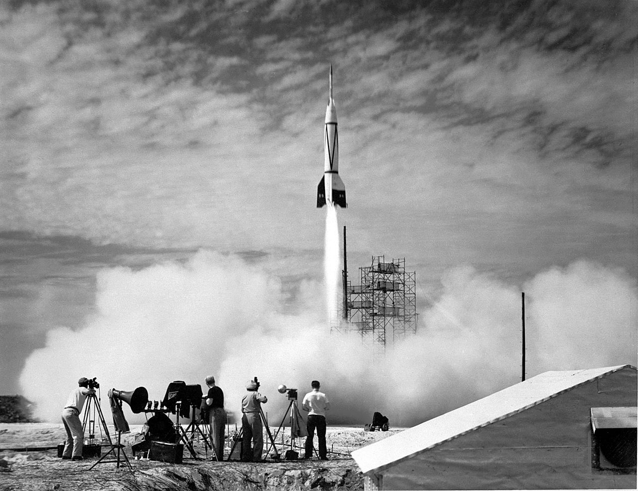 In July 1950 the first Bumper rocketis launched from Cape Canaveral, Florida.