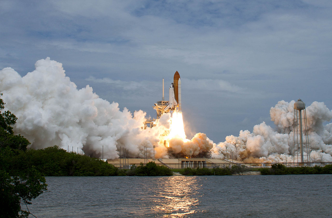 Atlantis begins the last mission of the Space Shuttle program