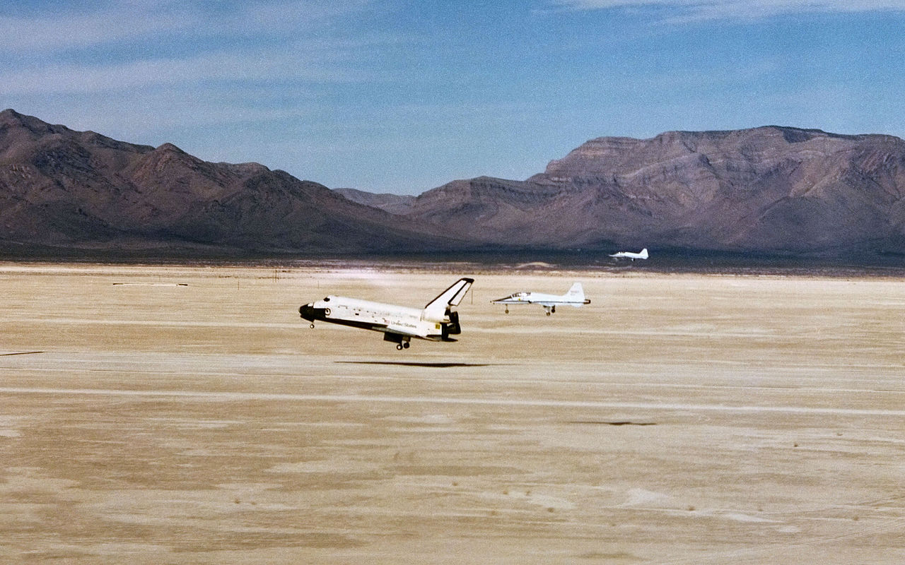 STS-3 lands in March 1982
