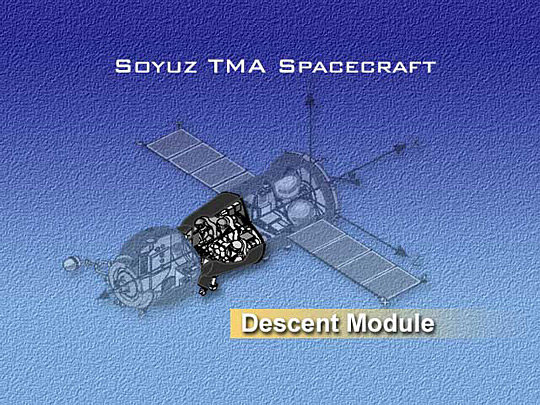 Soyuz spacecraft's Descent Module
