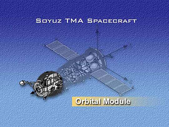 Soyuz spacecraft's Orbital Module