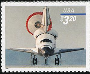 A United States Space Shuttle stamp