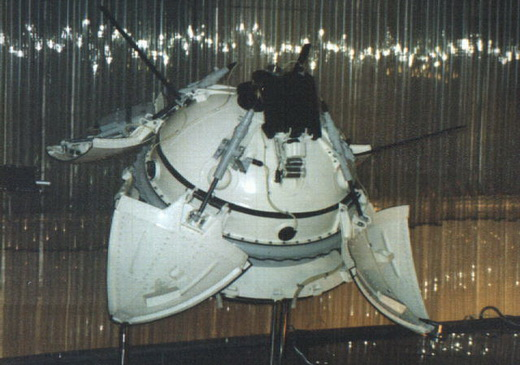 Mars 3 lander at the Memorial Museum of Cosmonautics in Russia