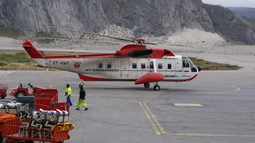 Air Greenland Sikorsky S-61N helicopter