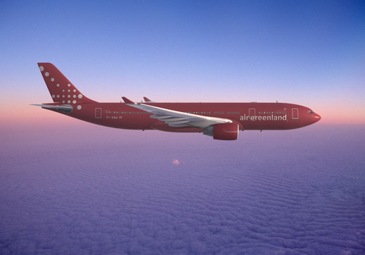 Air Greenland new identity of the Airbus A330-200 by Studiomega