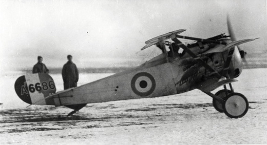 Nieuport 17 triplane undergoing evaluation