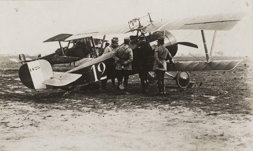 Nieuport 17 flown by René Dormewhile with escadrille N.3 during the battle of the Somme in late 1916.