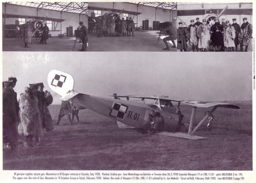 Nieuport 17's in Polish service