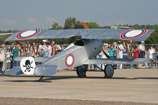 Replica Nieuport 17 in Imperial Russian Air Service markings