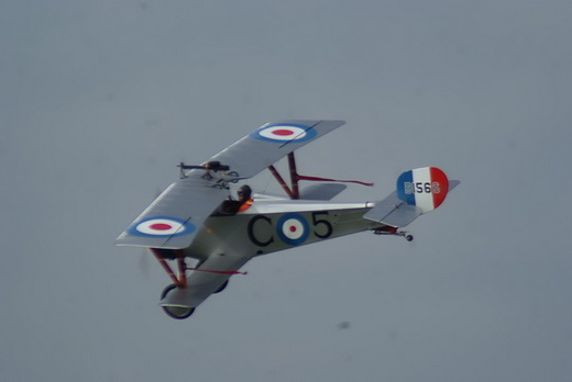 Replica of Billy Bishop's Nieuport 17.