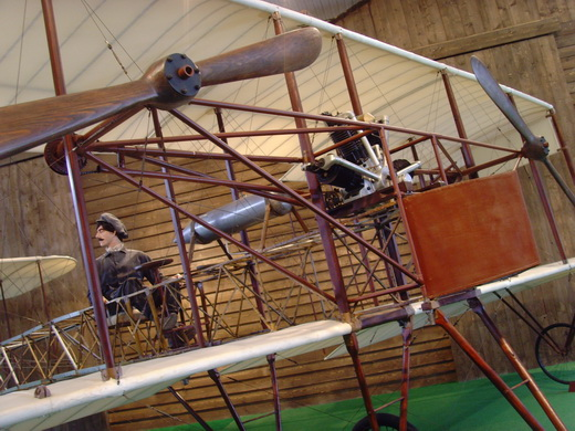 The original Ca.1 is on display at the Volandia aviation museum, not far from Malpensa Airport.