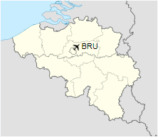 BRU is located in Belgium