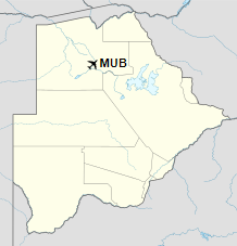 MUB is located in Botswana