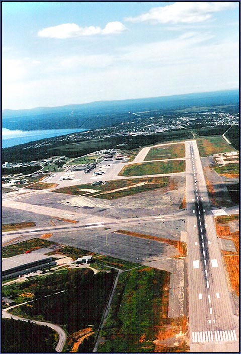 history of gander international airport authority inc