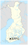 EFFO is located in Finland