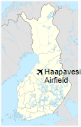 Haapavesi Airfield is located in Finland