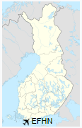 EFHN is located in Finland