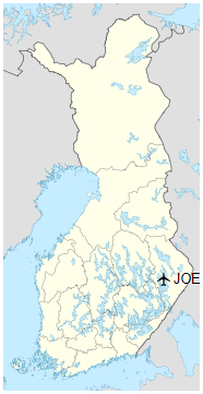 JOE is located in Finland