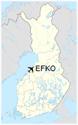 EFKO is located in Finland