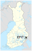 EFIT is located in Finland