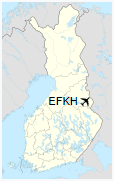 EFKH is located in Finland