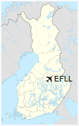 EFLL is located in Finland