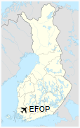 EFOP is located in Finland