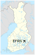EFRN is located in Finland