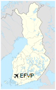 EFVP is located in Finland