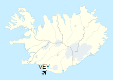 VEY is located in Iceland
