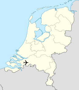 Breda International Airport Map