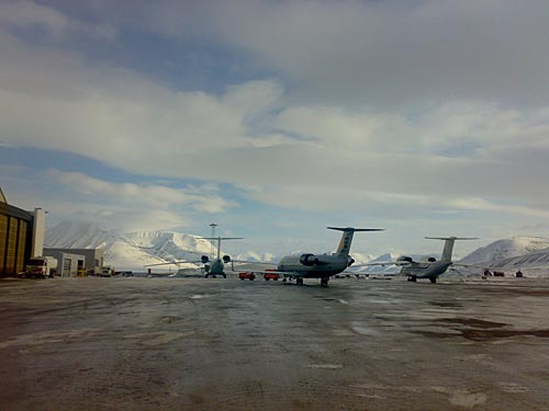 Svalbard Longyear Airport picture