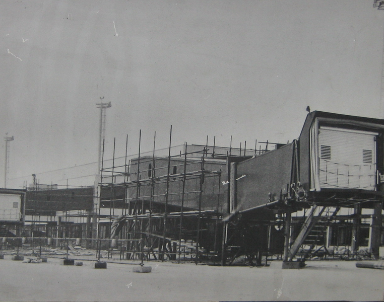 Modernisation project of Belgrade Airport during the 1960s