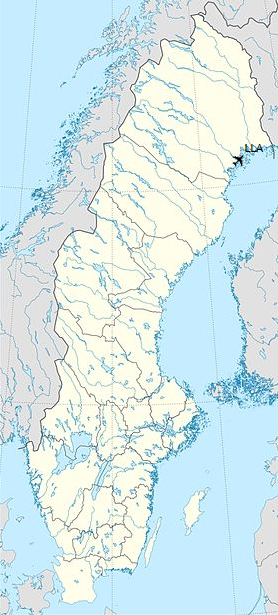LLA is located in Norrbotten