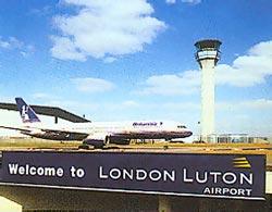 luton lufthavn london