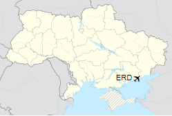 ERD is located in Ukraine