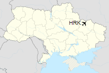 HRK is located in Ukraine