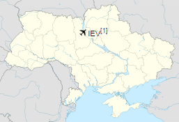 IEV is located in Kiev Oblast