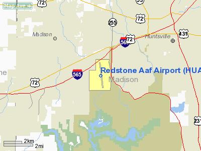 Redstone AAF Airport - Alabama airports