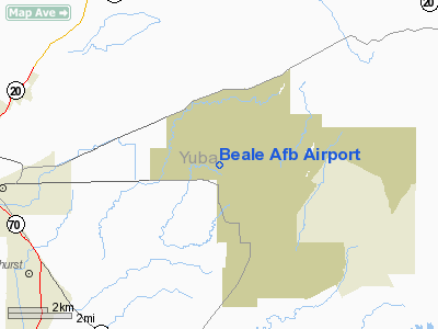 Beale Air Force Base Airport on map of cannon air force base, map of laughlin air force base, map of hickam air force base, map of tyndall air force base, map of randolph air force base, map of davis monthan air force base, map of lowry air force base, map of clinton-sherman air force base, map of robins air force base, map of fairchild air force base, map of minot air force base, map of langley air force base, map of whiteman air force base, people of beale air force base, map of schriever air force base, map of mountain home air force base, map of eglin air force base, map of patrick air force base, map of mather air force base, map of los angeles air force base,