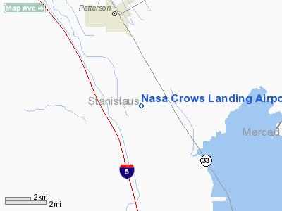 Nasa Crows Landing Airport