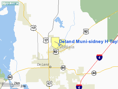 Deland Municipal - Sidney H Taylor Field Airport picture