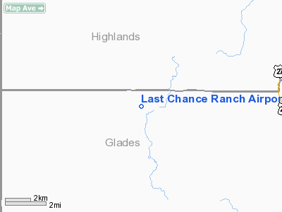 Last Chance Ranch Airport