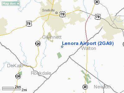 Lenora Airport - Georgia airports