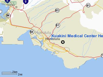 Kuakini Medical Center Heliport