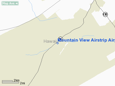 Mountain View Airstrip Airport
