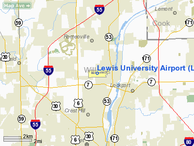 Lewis University Airport - Airports in illinois