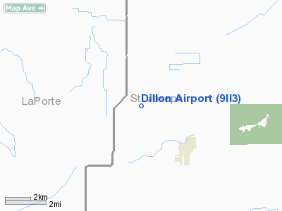 Dillon Airport picture