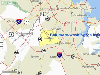 Baltimore/washington International Thurgood Marshal Airport